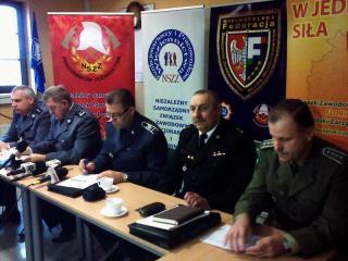 FZZSM Wlkp. Konferencja mundurowych